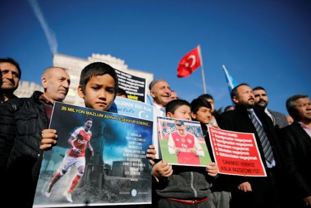China Bisa Kena Bumerang karena Boikot Oezil yang Dukung Uighur