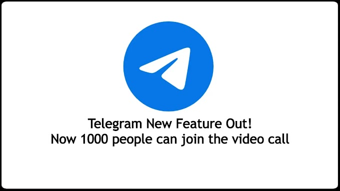 Telegram video calling app: Now 1000 people can join the video call