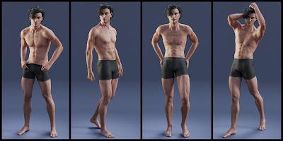 Heartthrob for Genesis 3 Male