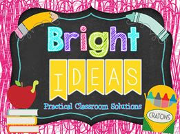 Fern Smith's Classroom Ideas for Back to School - Advice for the New Teachers For the Bright Ideas Blog Hop - Be At the Meeting!