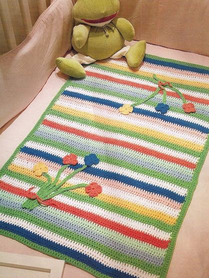 Ropa para ni os para tejer 20 modelos moldes y paso a - Mantas de crochet paso a paso ...