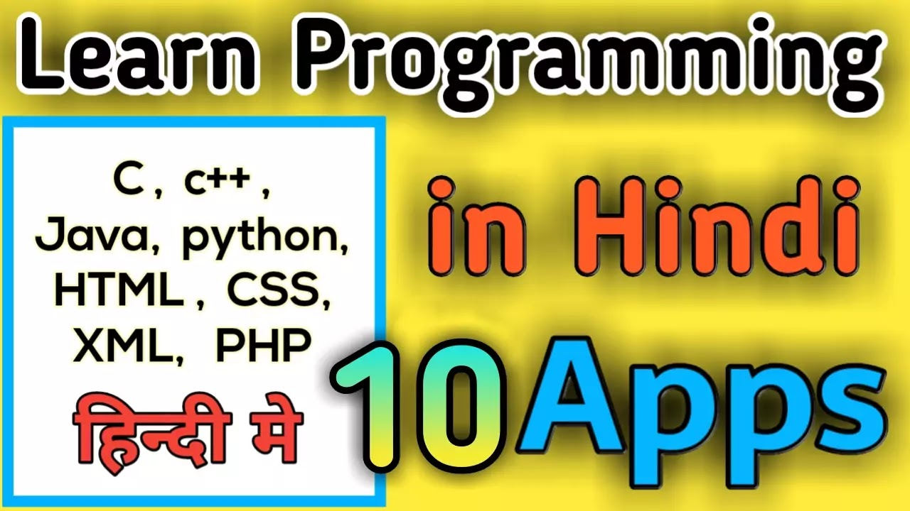 top 10 best apps for learn programming languages, best coding apps , theapkguide