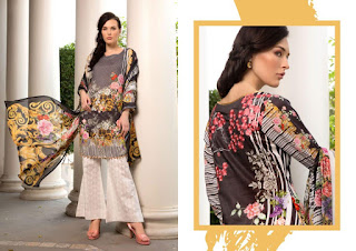 Salina Vol 2 By ZS Textile Original Lawn Pakistani Suits