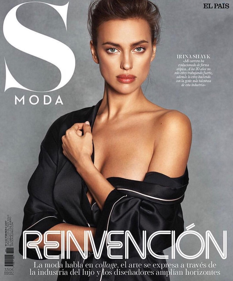 Irina Shayk on S Moda February 2017 Cover by Rowan Papier