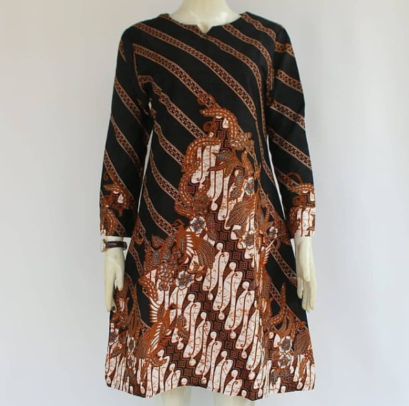 Tunik Batik Simple Gunungan