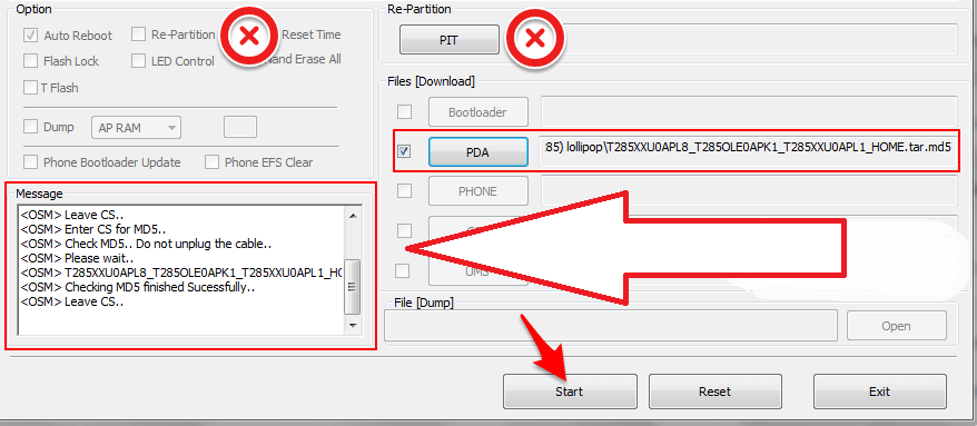 How to Install Firmware Samsung Smartphone via ODIN [All