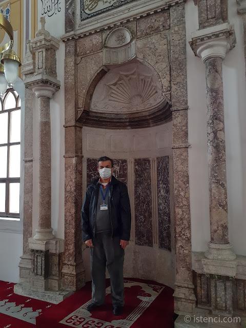 Bolu Yıldırım Bayezıd Camii Görevlisi Tahsin Metin