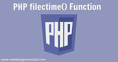 PHP filectime() Function