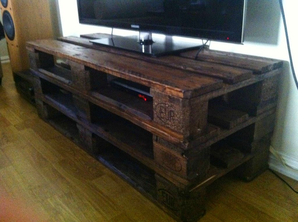 Tv Stand 99 Pallet Constructions And Furnitures