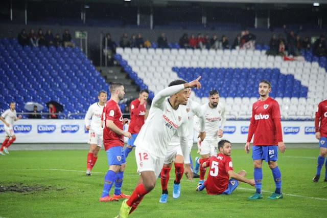 Crónica Bergantiños 0 - Sevilla FC 1