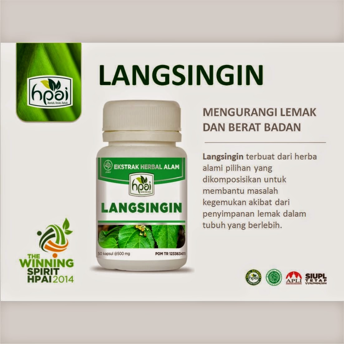 LANGSINGIN HPAI