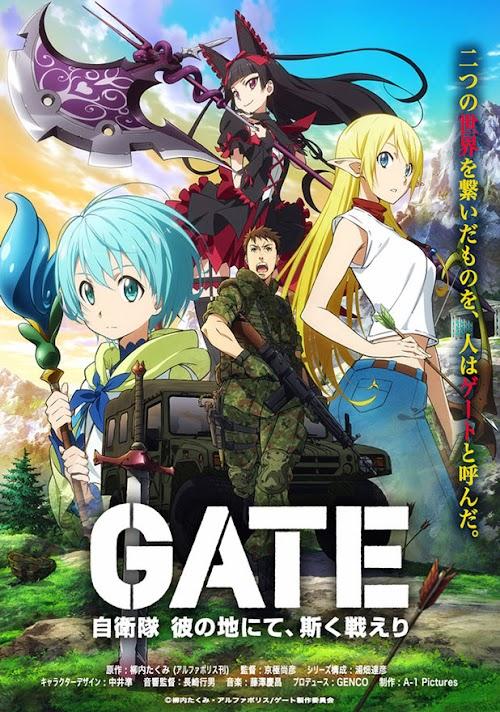 Descargar Gate: Jieitai Kanochi nite, Kaku Tatakaeri [12 - 12][Sub Español][MEGA] HDL]