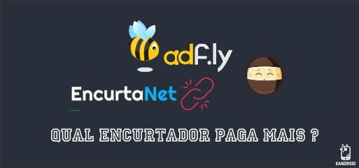Veja a diferença entre EncurtaNet, Adfly, Shorte.st, Ouo.io - Qual paga mais ?