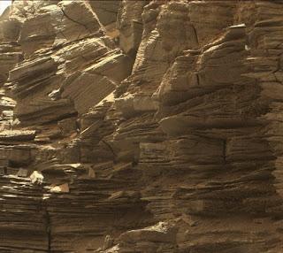 Mars Rock Formations