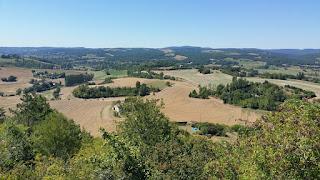 Vista des de Castelnau-de-Montmiral