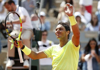 Rafa Nadal wins French Open opener