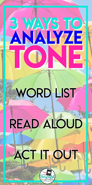 3 Ways to Analyze Tone in the Secondary ELA Classroom