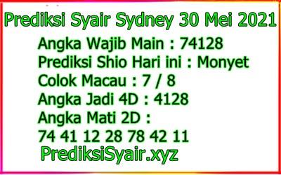 Syair opesia sdy 29 mei 2021