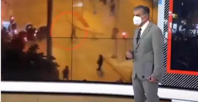 Ο Ευαγγελάτος φόρεσε μάσκα απέναντι από εμβολιασμένο – ΒΙΝΤΕΟ