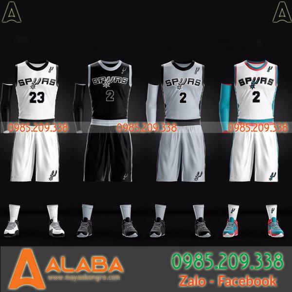 Áo bóng rổ Spurs tự thiết kế