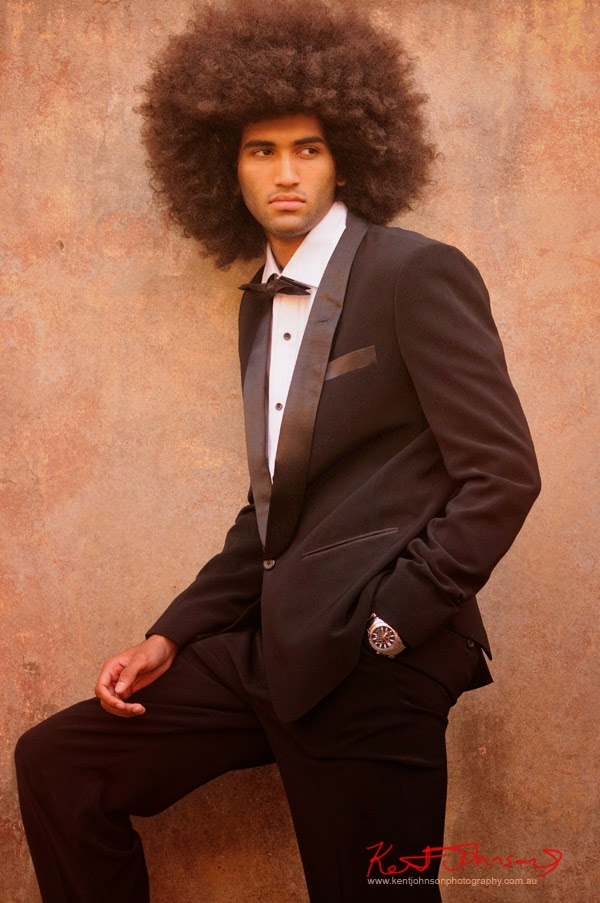 Black tie dinner suit shot, formal style menswear, The Rocks Sydney - Photography by Kent Johnson.