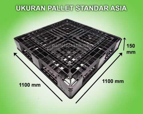 Ukuran Pallet Plastik Standard