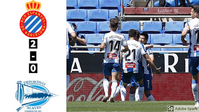 Video Espanyol 2-0 Alaves: Vòng 28 La Liga
