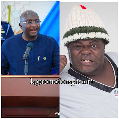 Vice President Of Ghana, Dr. Bawumia Supports Veteran Actor, Psalm Adjeteyfio (T.T) Who Pleaded For Financial Support To Pay His House Rent With Ghc50k