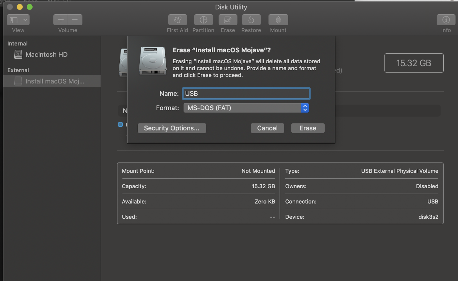 How to format your Mac and reset it back to macOS Mojave or
