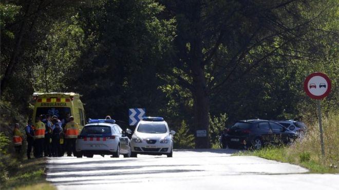 Barcelona attack: Van driver shot dead by police