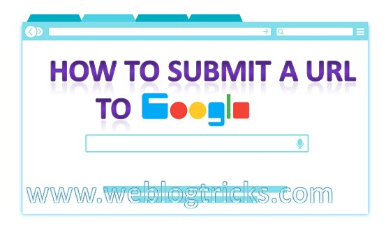 How To Submit A URL To Google