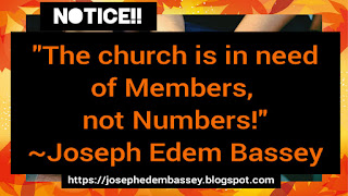Members are necessary in the church.
