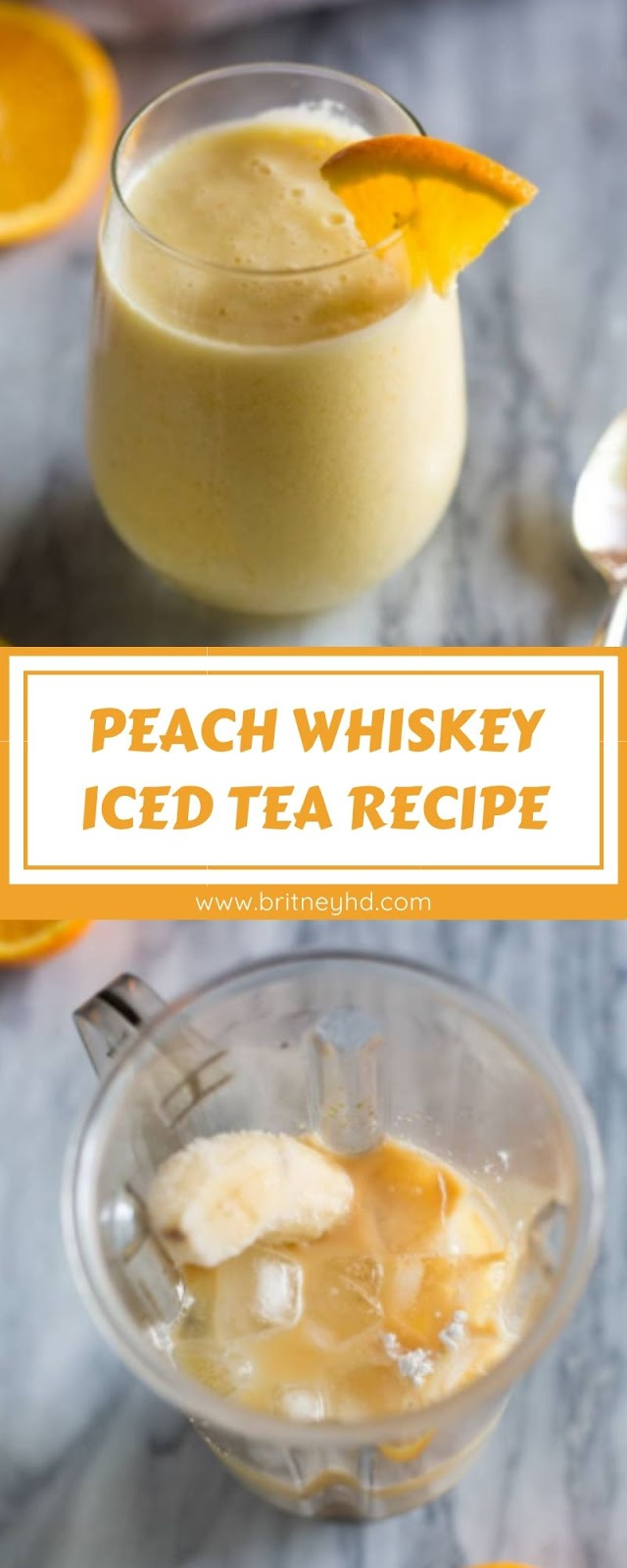 PEACH WHISKEY ICED TEA RECIPE