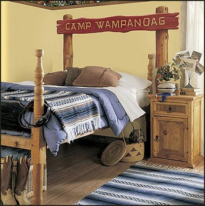 boys camp theme bedroom log cabin - rustic style decorating - Cabin decor - bear decor - camping in the northwoods style  - Antler decor - log cabin boys theme bedroom - Cabin Bedding - Rustic Bedding - rustic furniture - cedar beds - log beds - LOG CABIN DECORATING IDEAS - Swiss chalet ski lodge murals - camping room decor - hunting and fishing theme decorating
