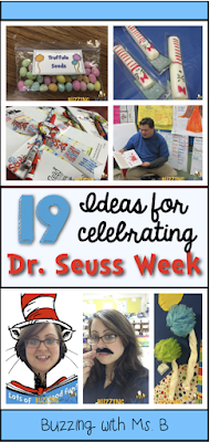 http://buzzingwithmsb.blogspot.com/2015/03/all-things-seuss-19-ideas-for-dr-seuss.html