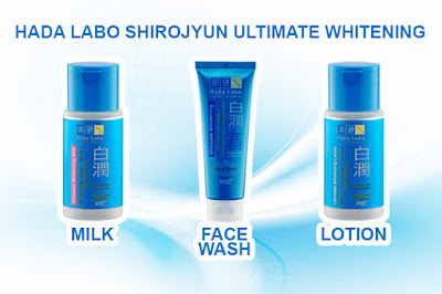 Review Hada Labo Shirojyun Ultimate Whitening Milk Face Wash Lotion