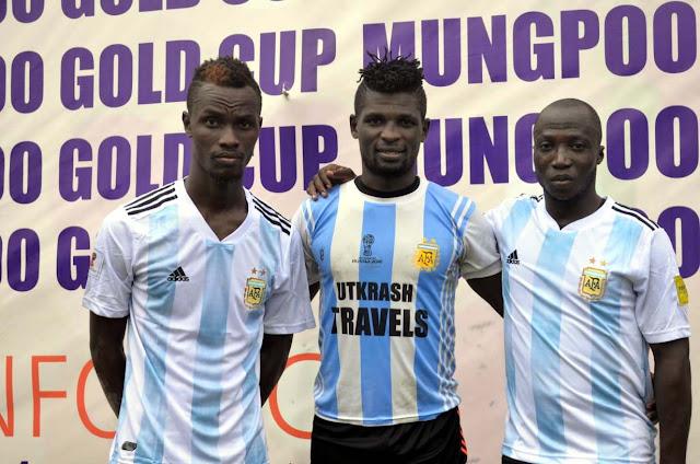 Nigerian player of Amukta Pariwar Siliguri