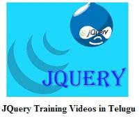 Jquery Training Videos in Telugu