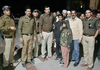 बनभूलपुरा (हल्द्वानी) की पुलिस टीम