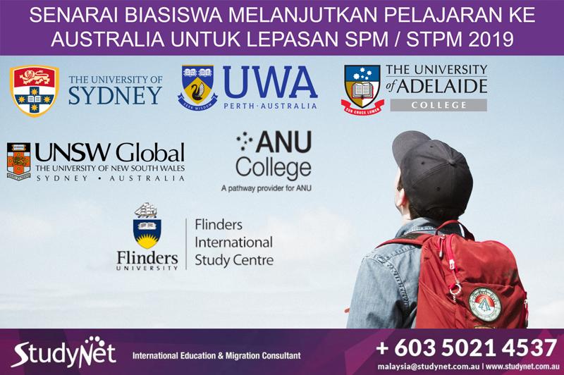 Biasiswa Terkini Lepasan Spm Stpm 2020 Untuk Program Asasi Diploma Di Australia Biasiswa Terkini 2020 2021