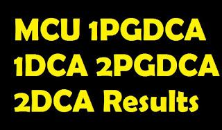 MCU 1PGDCA 1DCA 2PGDCA 2DCA Results