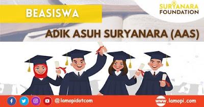 Pendaftaran Beasiswa Adik Asuh Suryanara
