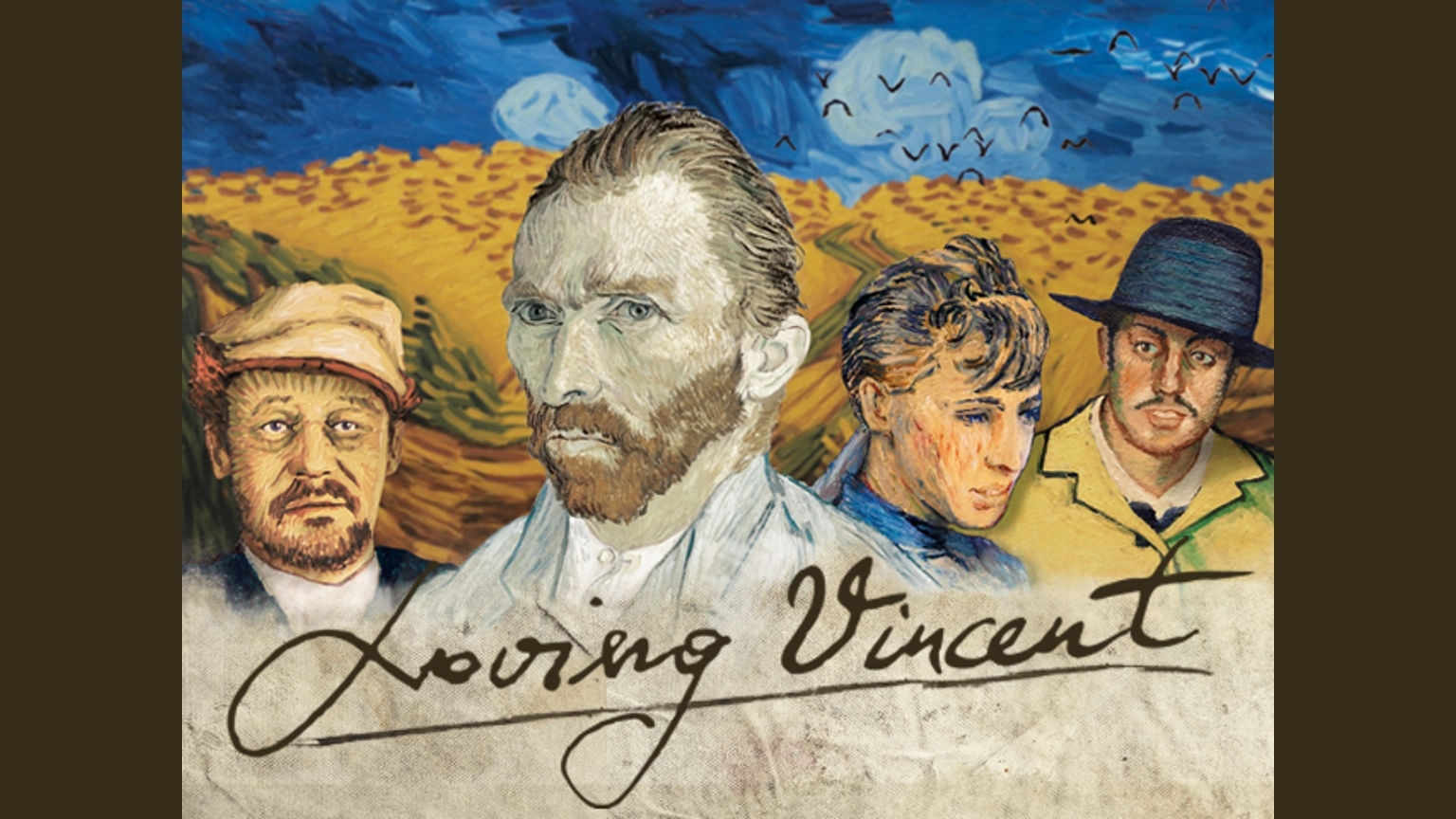 14-Animated Oil Paintings to tell the story of Loving Vincent Van Gogh