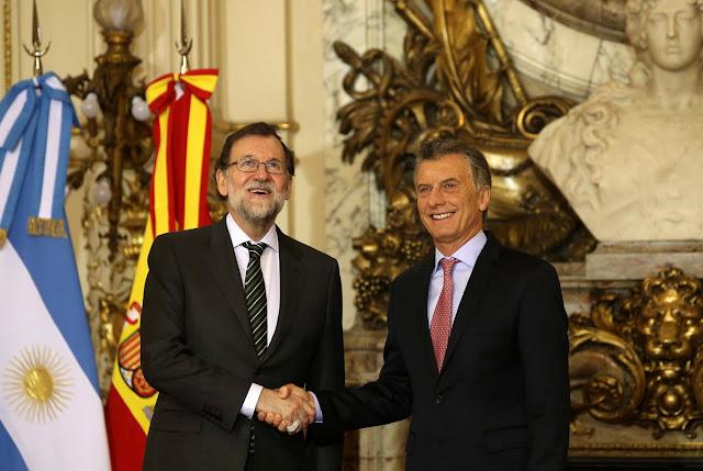 Declaración conjunta: Rajoy y Macri no reconocerán los resultados de las elecciones del #20May