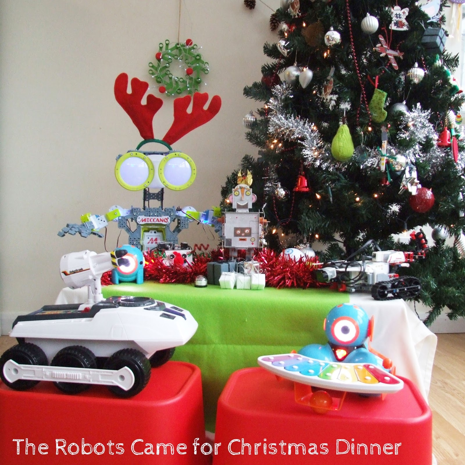 The Robots Came for Dinner on Christmas Day - Project