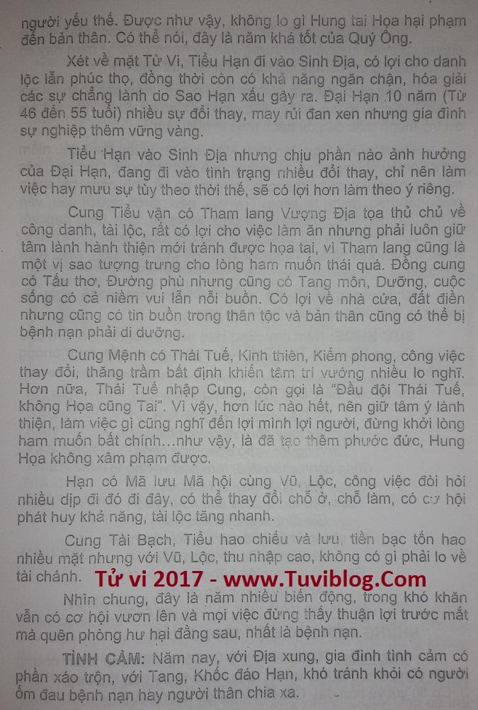 Xem tuoi Ky Dau 1969 nam 2017