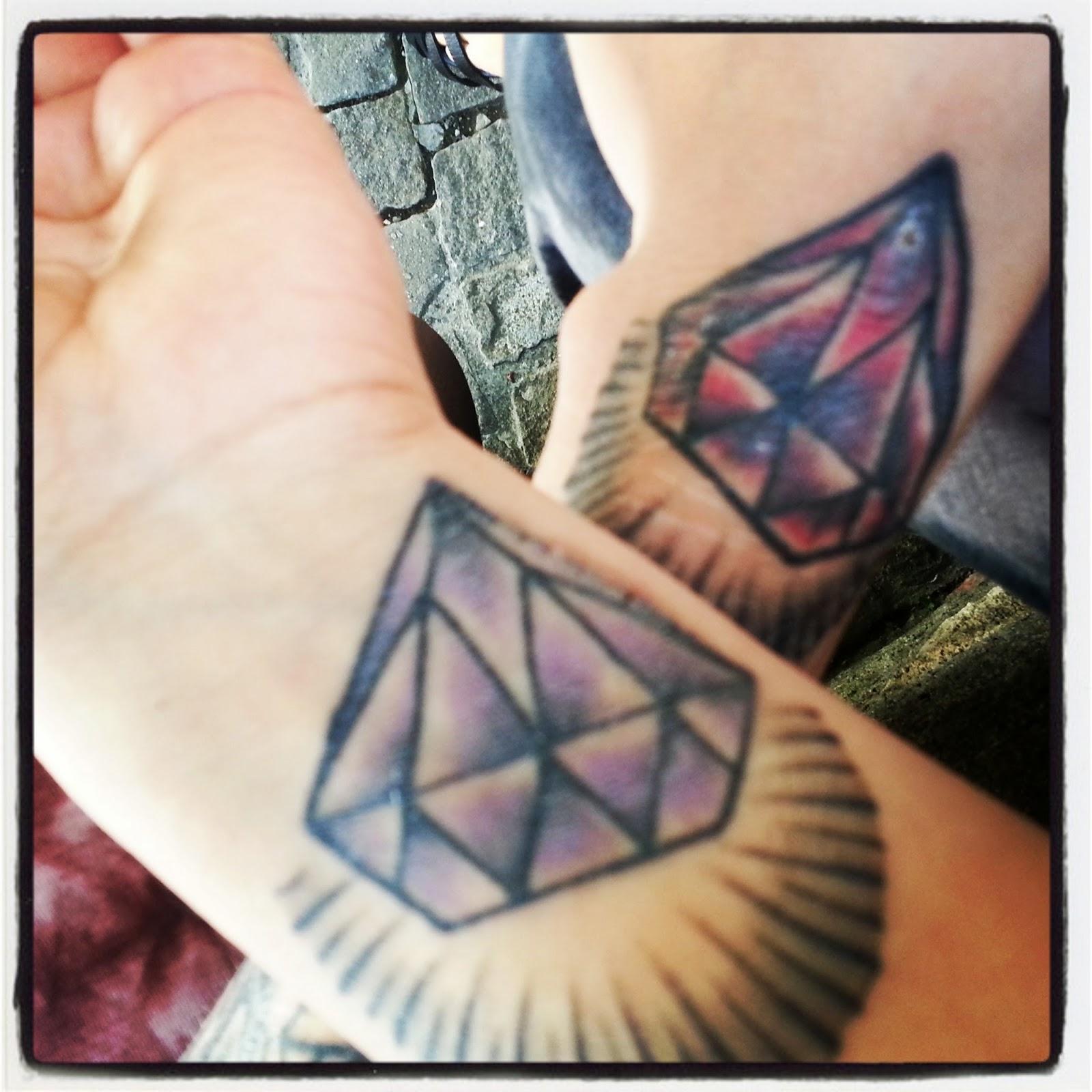 Das tattoo haben wir bei Roman im Lalaland gestochen.