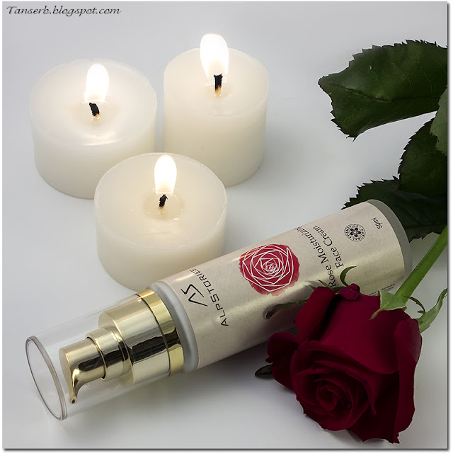 AlpStories Rose moisturizing face cream