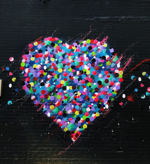 Heart Graffiti Art Photo | Photo by Jon Tyson via Unsplash