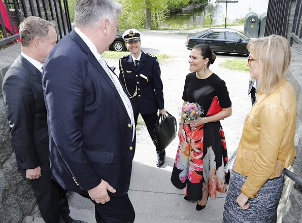 Crown Princess Victoria attended the annual meeting of Association of Friends of the Nordic Museum and Skansen at Skansen Open-air Museum in Stockholm